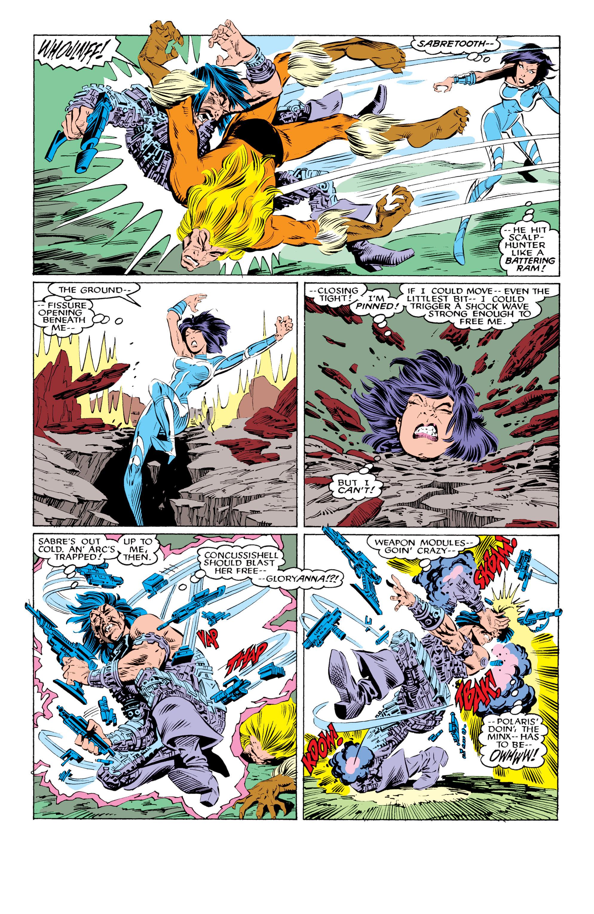 Read online Uncanny X-Men (1963) comic -  Issue #219 - 20