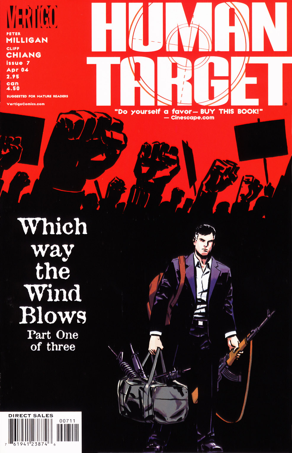 Human Target (2003) issue 7 - Page 1