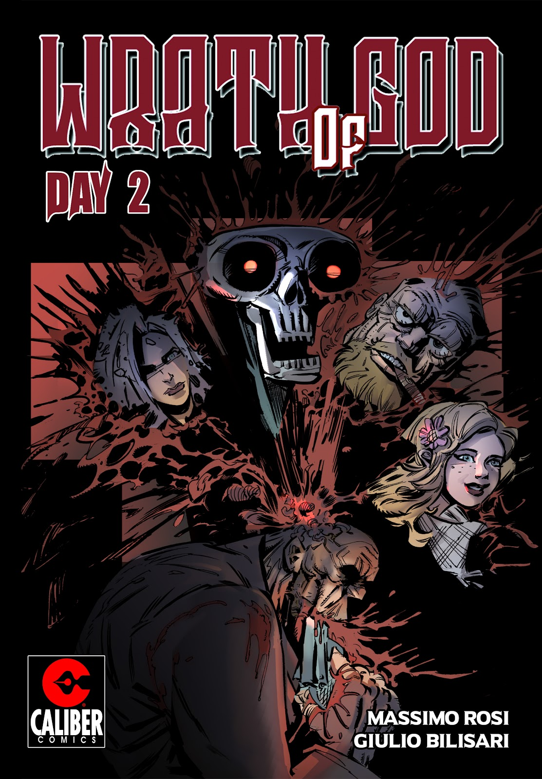 Read online Wrath of God comic -  Issue #2 - 1