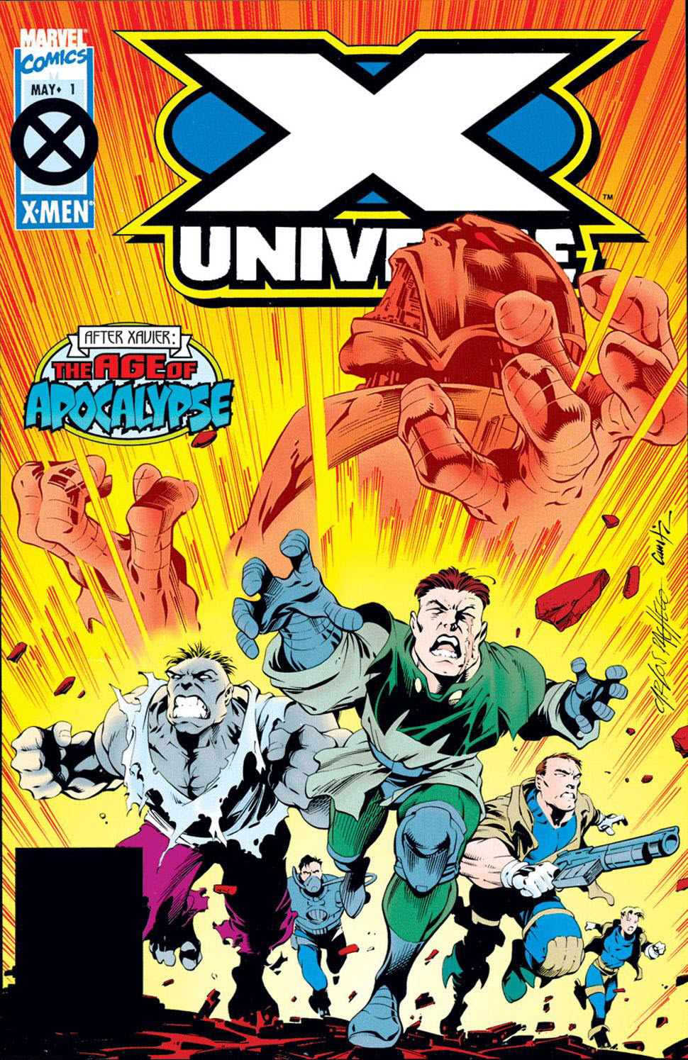 Read online X-Universe comic -  Issue #1 - 1