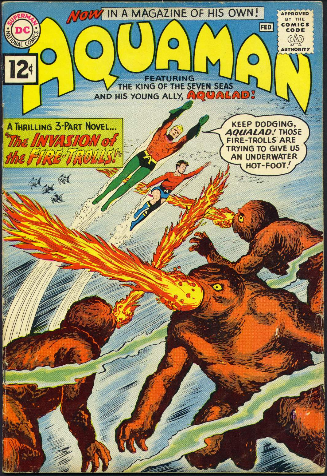 Read online Aquaman (1962) comic -  Issue #1 - 1