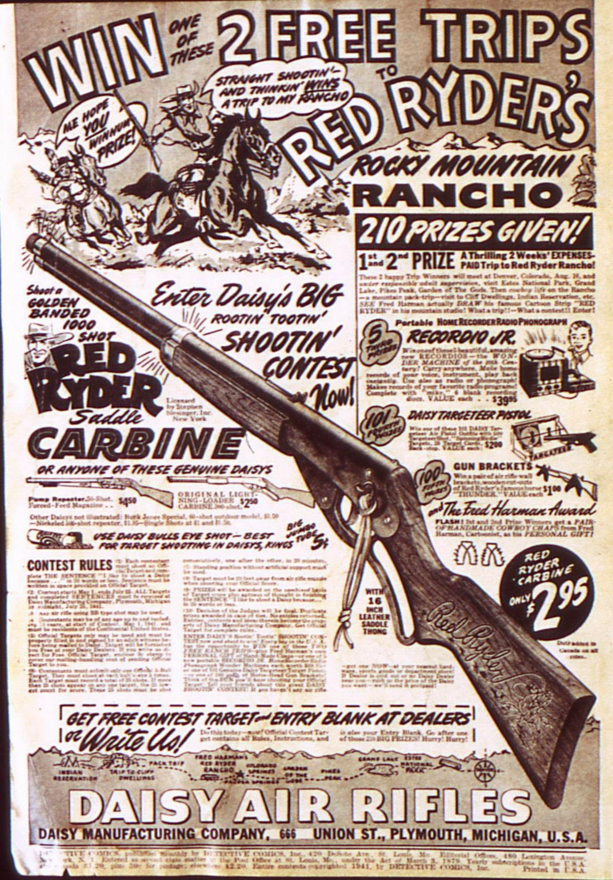 Read online Detective Comics (1937) comic -  Issue #52 - 2