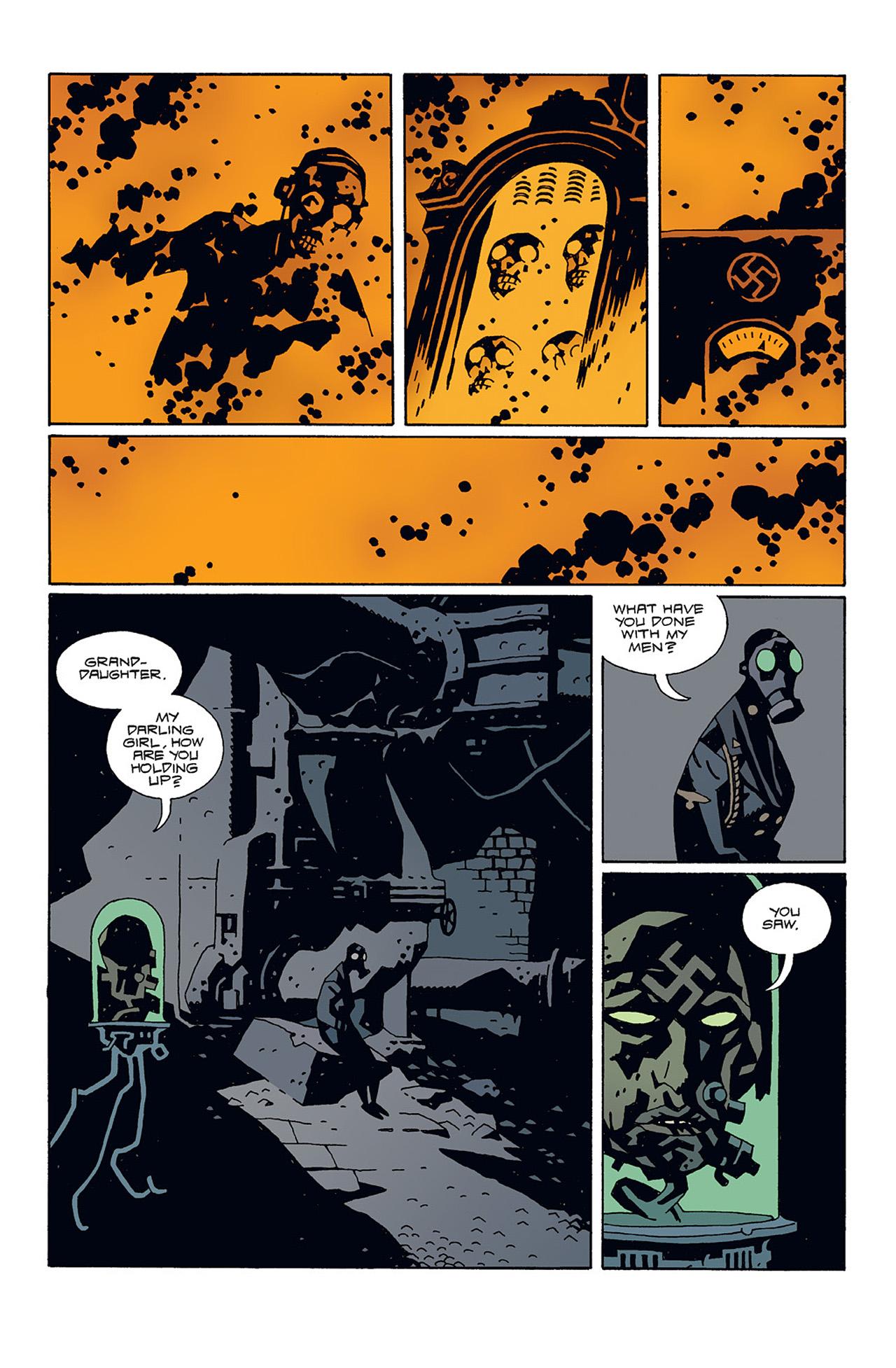 Read online Hellboy: Conqueror Worm comic -  Issue #3 - 23