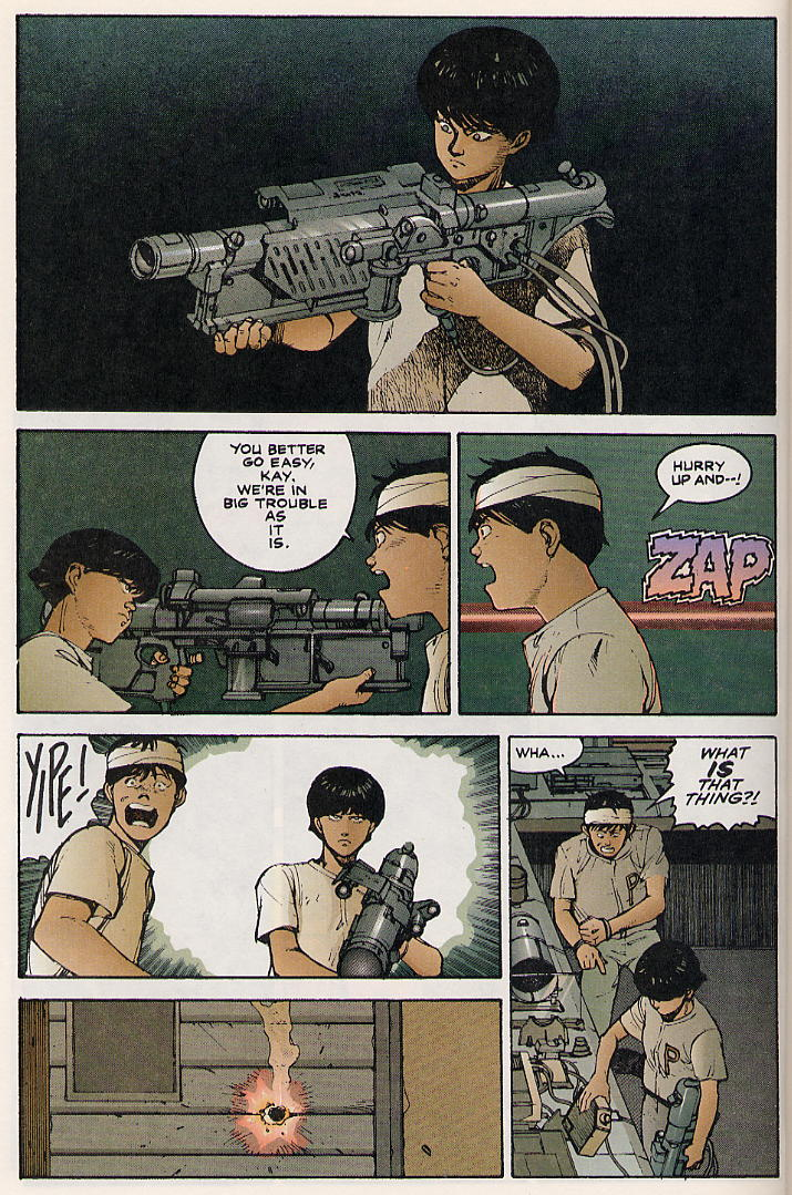 Read online Akira comic -  Issue #8 - 14
