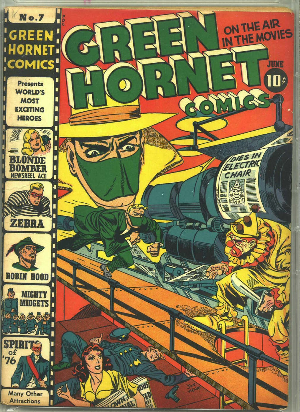 Green Hornet Comics issue 7 - Page 1