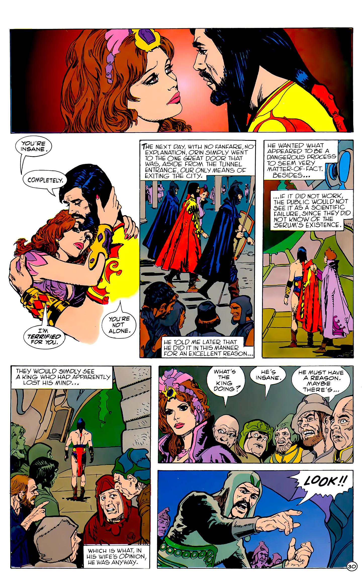 Read online Atlantis Chronicles comic -  Issue #2 - 30
