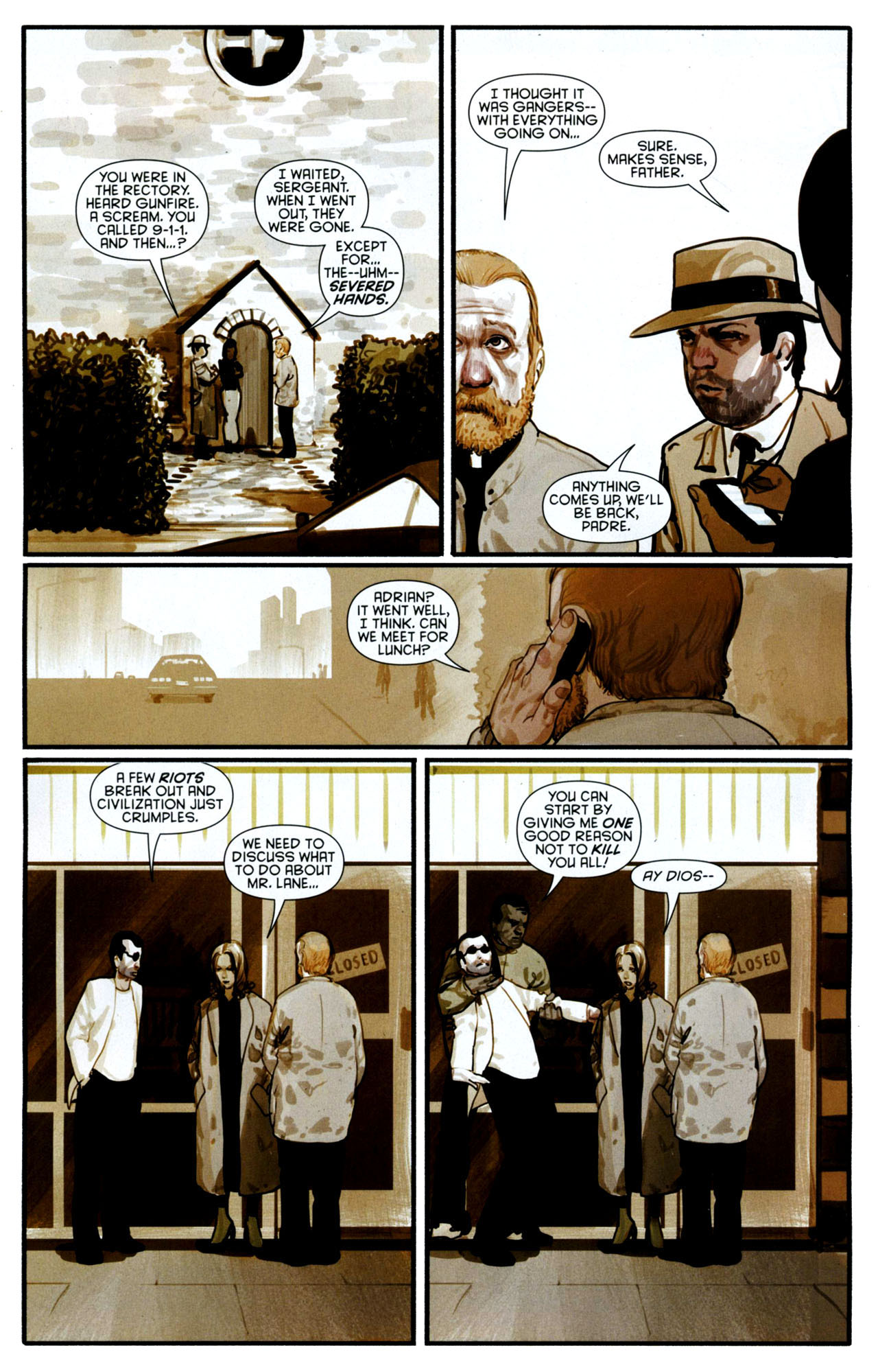 Read online Azrael: Death's Dark Knight comic -  Issue #3 - 24