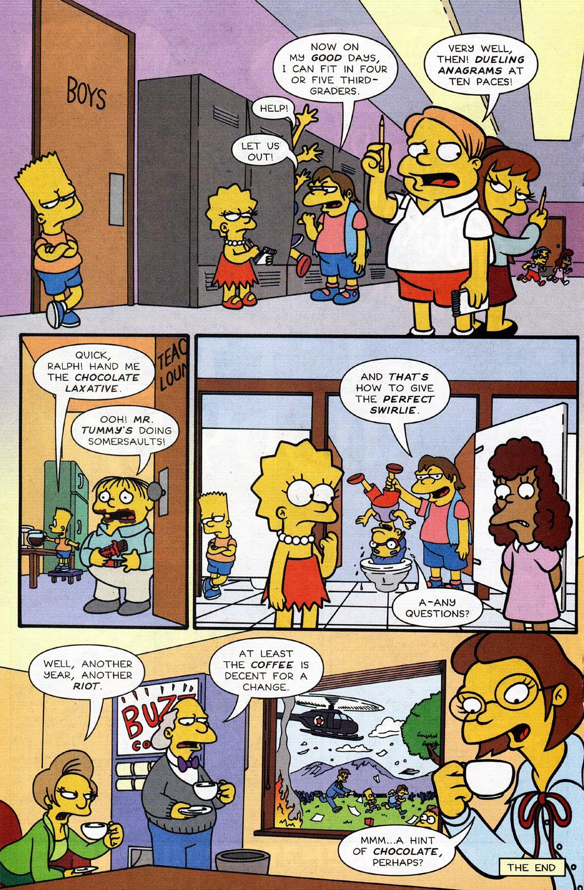 Read online Simpsons Comics Presents Bart Simpson comic -  Issue #13 - 18