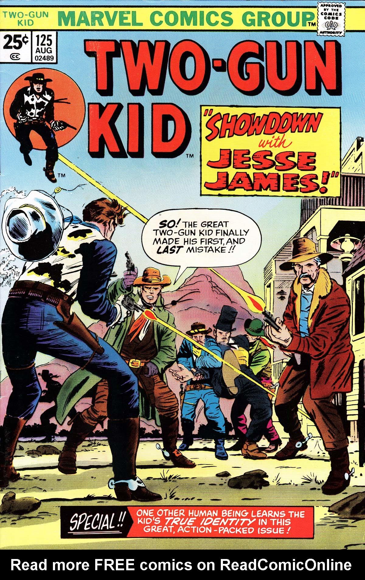 Read online Two-Gun Kid comic -  Issue #125 - 1