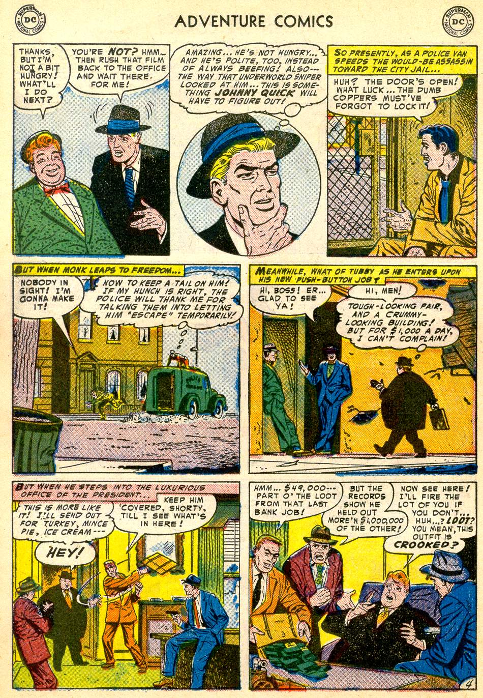 Read online Adventure Comics (1938) comic -  Issue #192 - 28