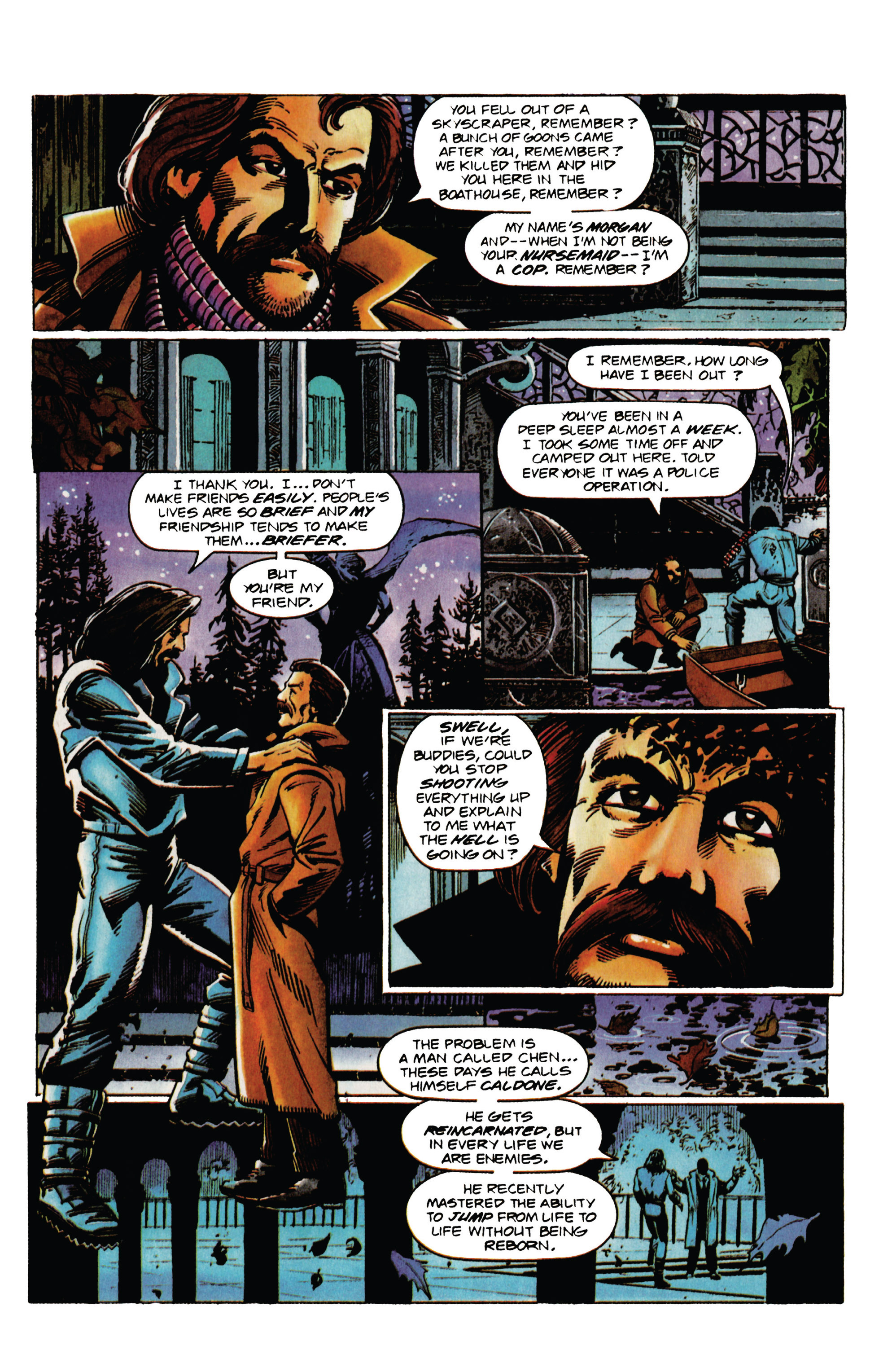 Read online Eternal Warrior (1992) comic -  Issue #31 - 7