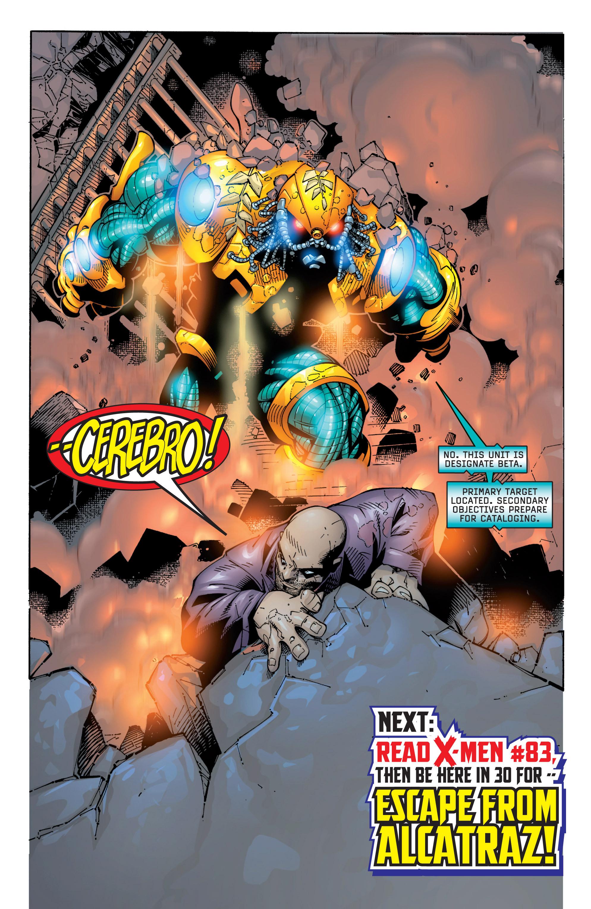 Read online Uncanny X-Men (1963) comic -  Issue #363 - 23