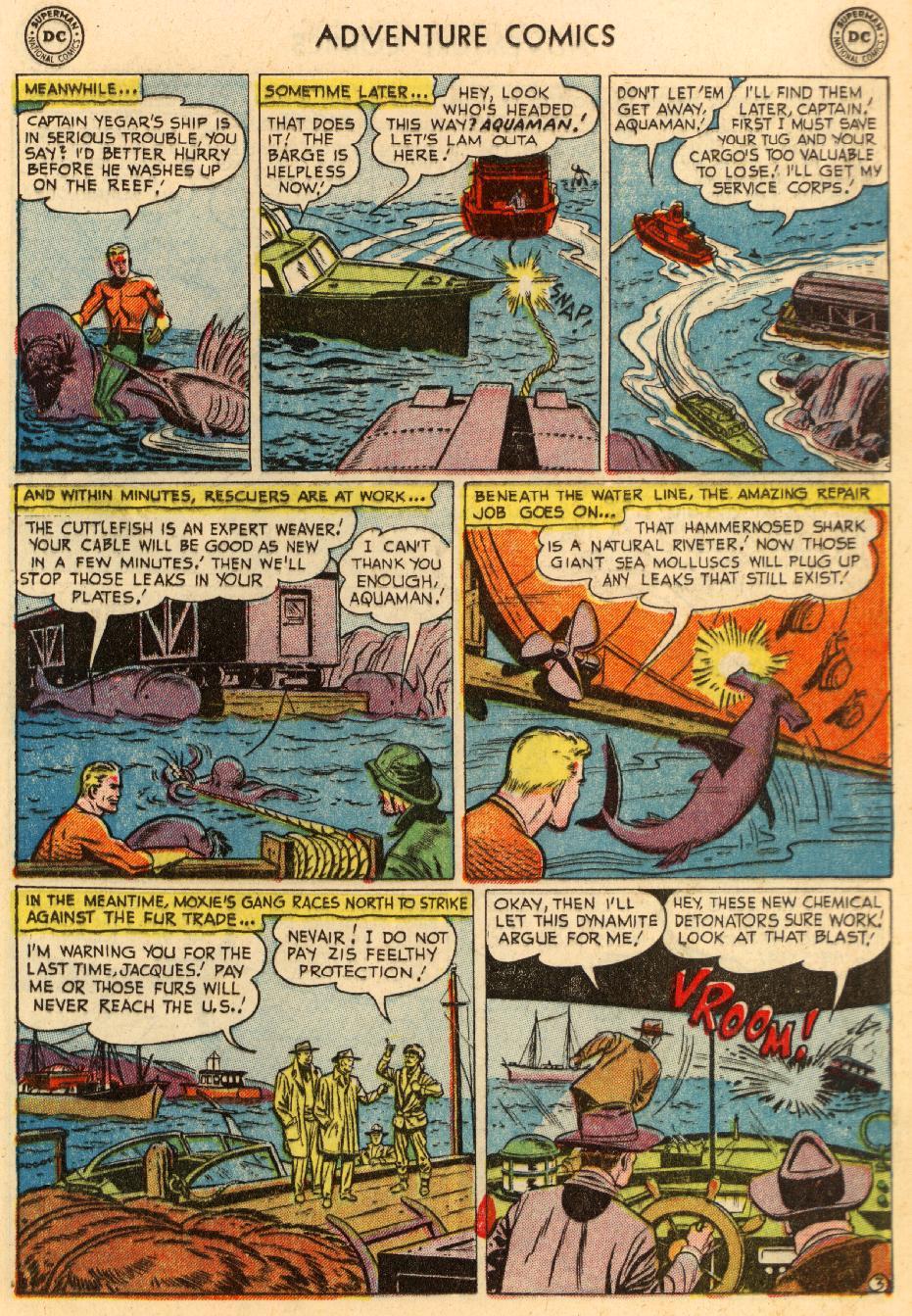 Read online Adventure Comics (1938) comic -  Issue #195 - 19