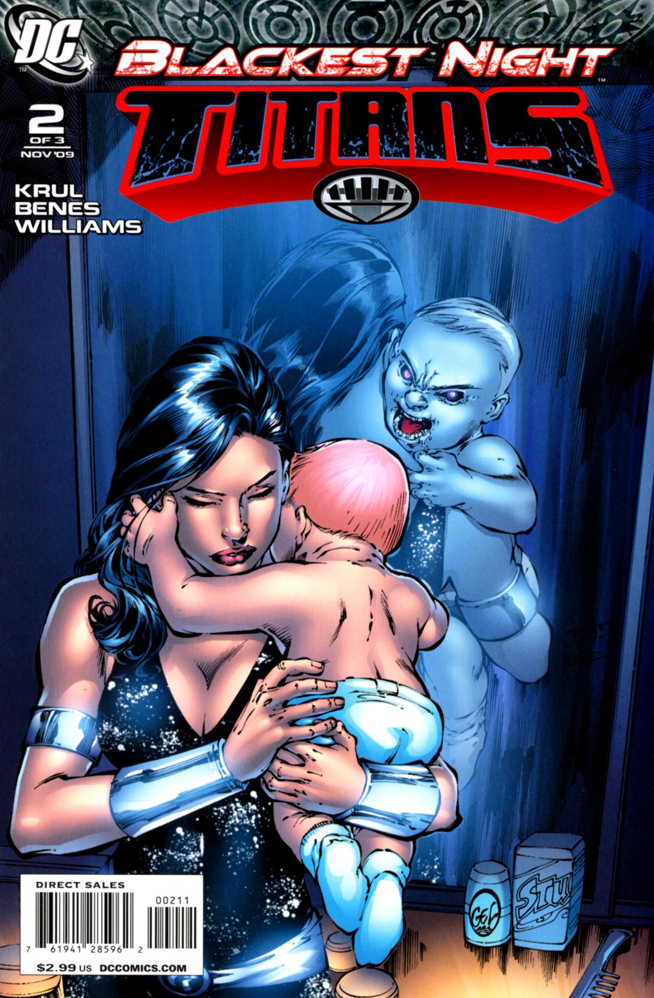 Blackest Night: Titans 2 Page 1