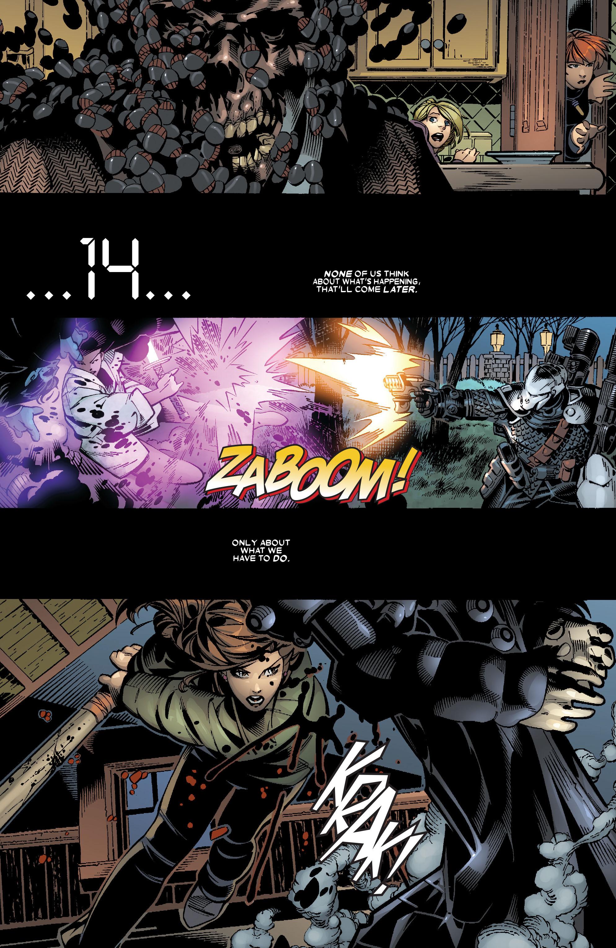 Read online Uncanny X-Men (1963) comic -  Issue #467 - 12