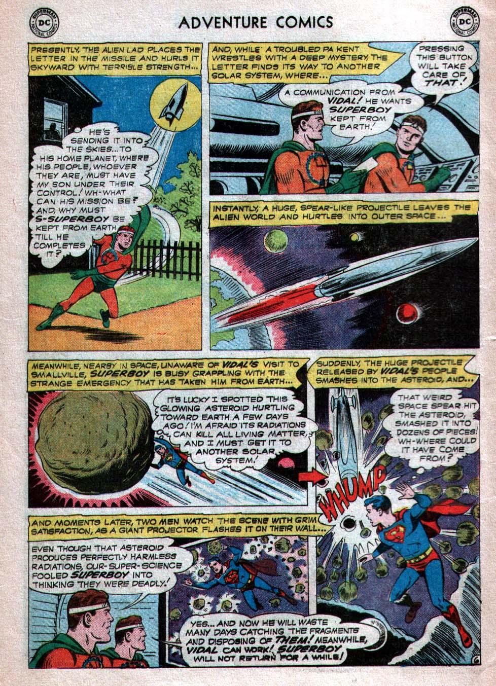 Read online Adventure Comics (1938) comic -  Issue #260 - 8
