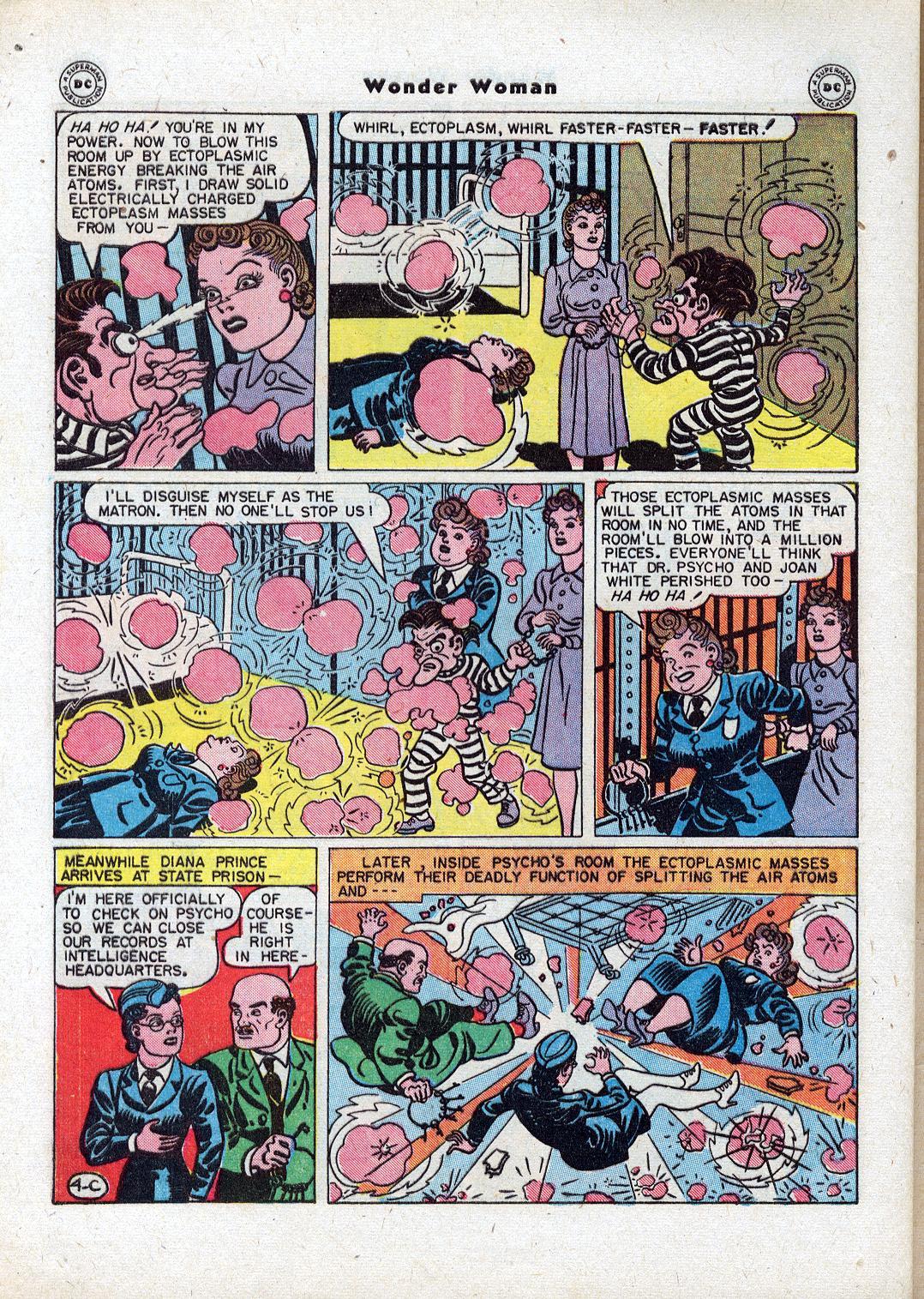 Read online Wonder Woman (1942) comic -  Issue #18 - 42