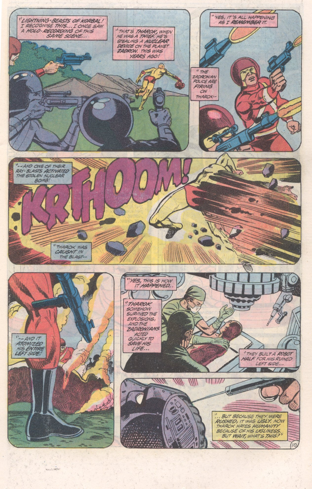 Legion of Super-Heroes (1980) 271 Page 10