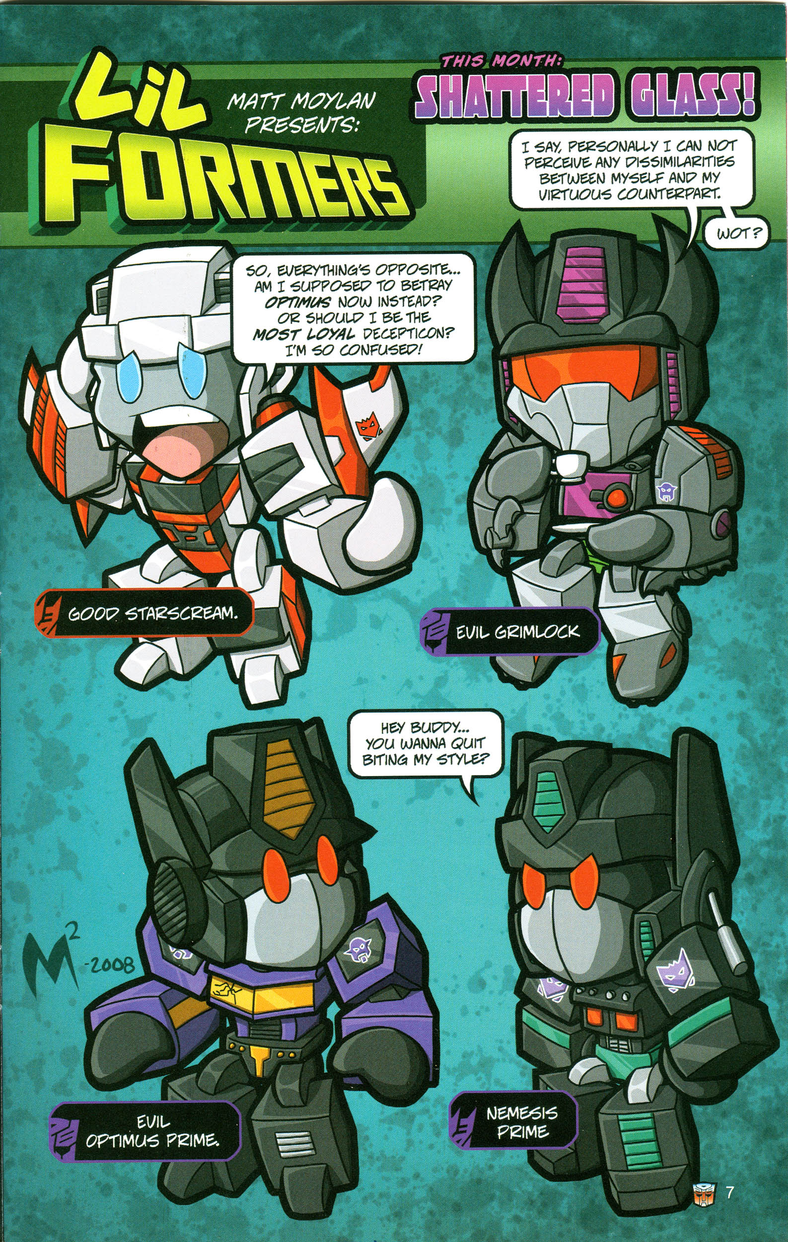 Read online Transformers: Collectors' Club comic -  Issue #21 - 7