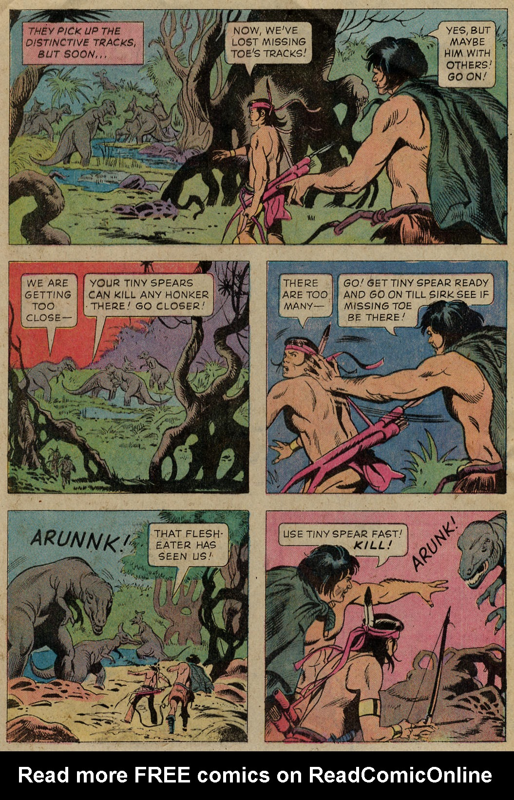 Read online Turok, Son of Stone comic -  Issue #102 - 9