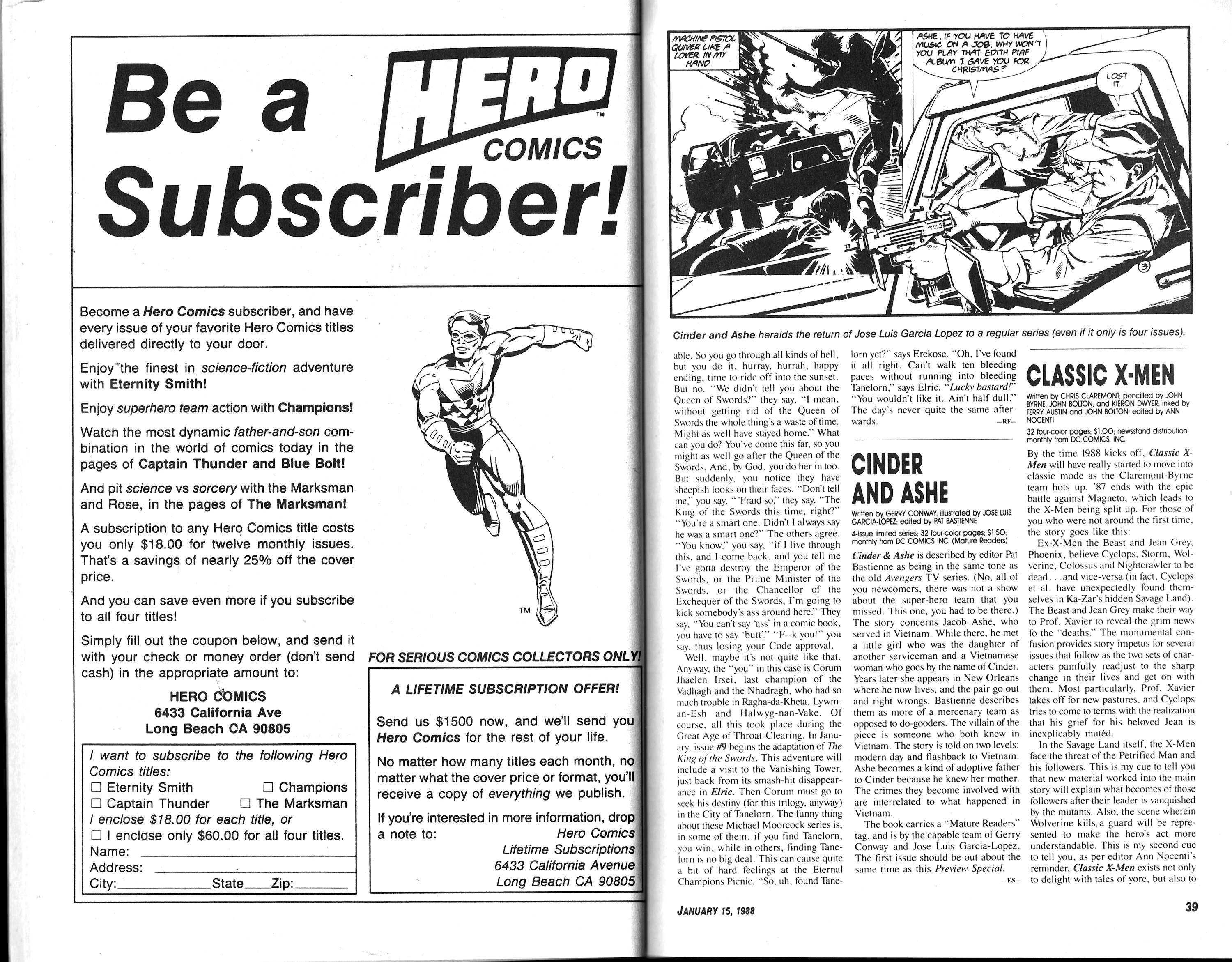 Read online Amazing Heroes comic -  Issue #133 - 21