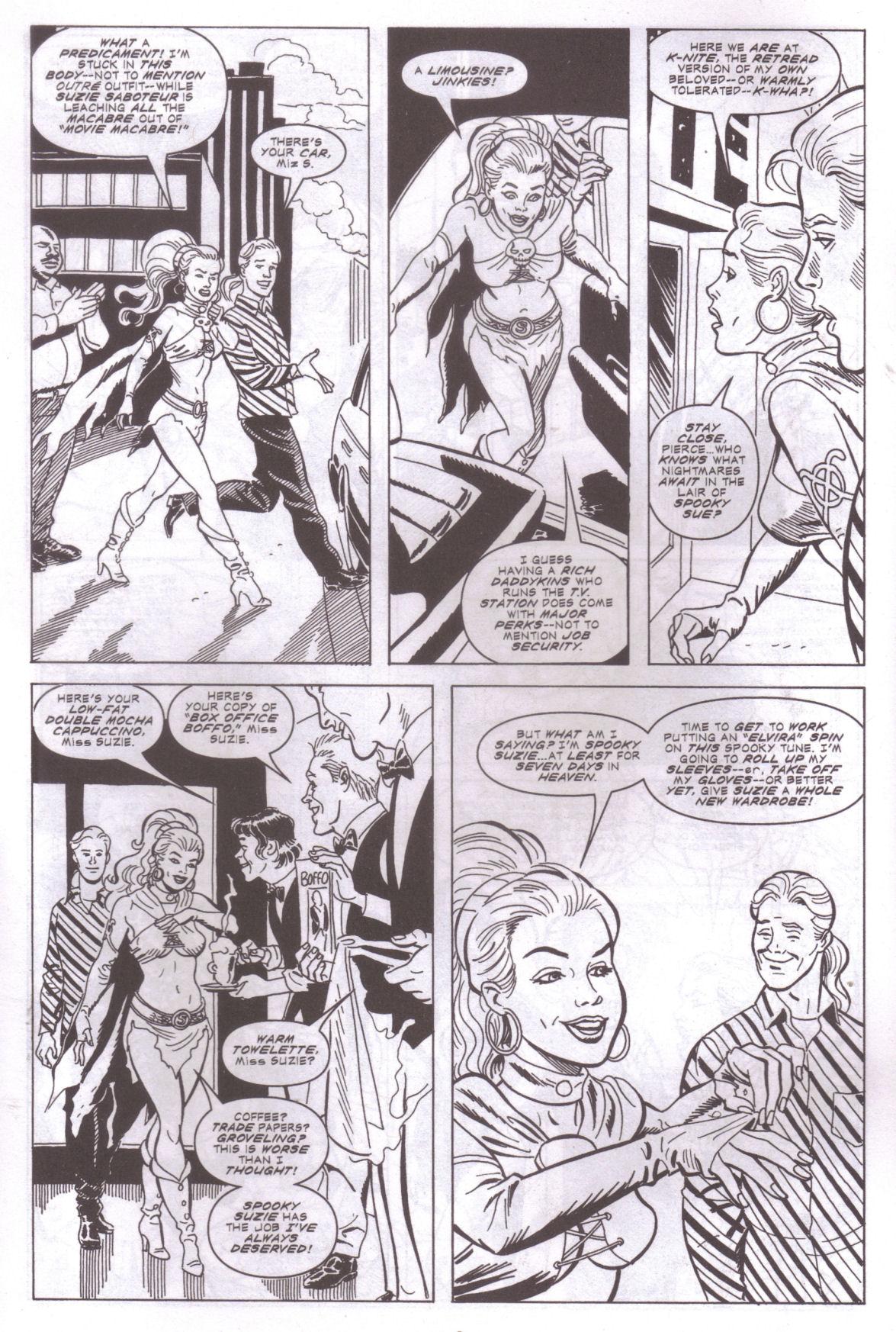 Read online Elvira, Mistress of the Dark comic -  Issue #159 - 10
