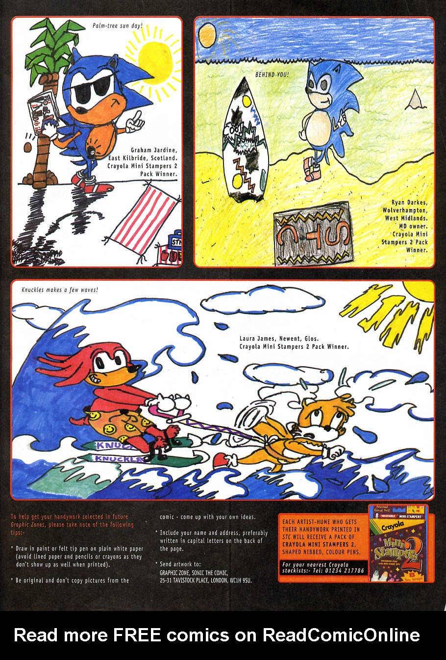 Read online Sonic the Comic comic -  Issue #108 - 22