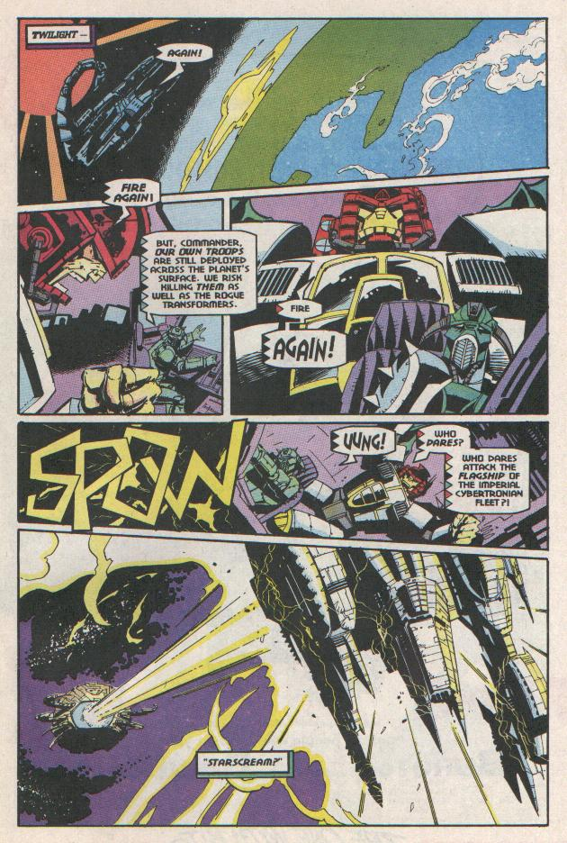 Read online Transformers: Generation 2 comic -  Issue #11 - 21