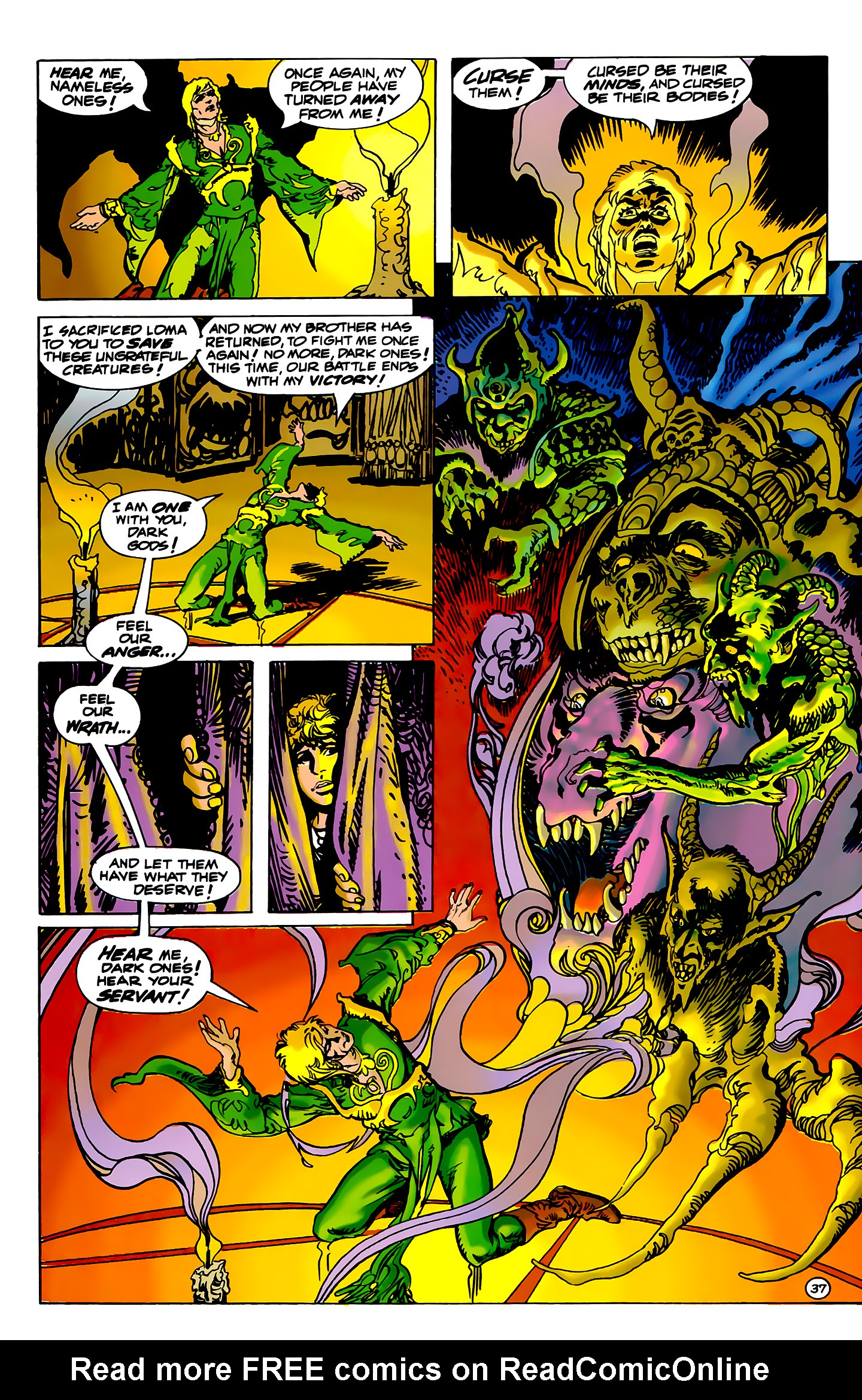Read online Atlantis Chronicles comic -  Issue #2 - 37