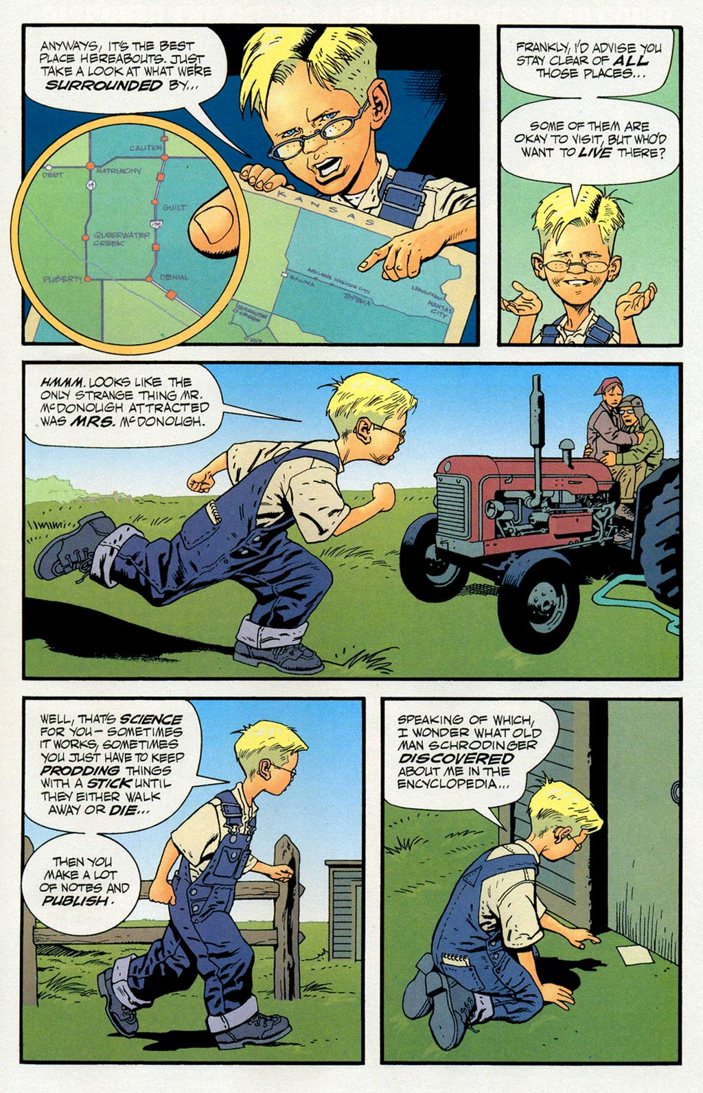 Read online ABC: A-Z, Tom Strong and Jack B. Quick comic -  Issue #ABC: A-Z, Tom Strong and Jack B. Quick Full - 16