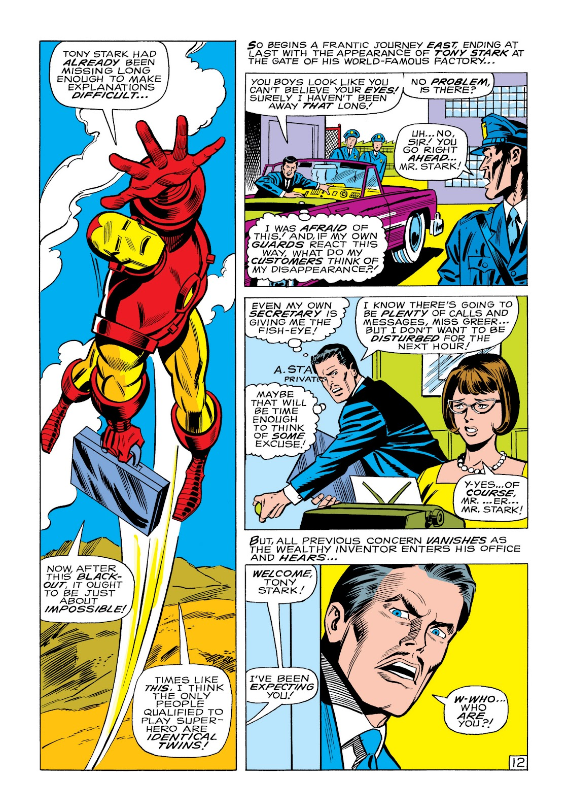 Read online Marvel Masterworks: The Invincible Iron Man comic -  Issue # TPB 6 (Part 1) - 81