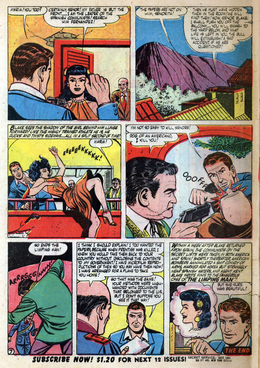 Kent Blake of the Secret Service issue 4 - Page 32