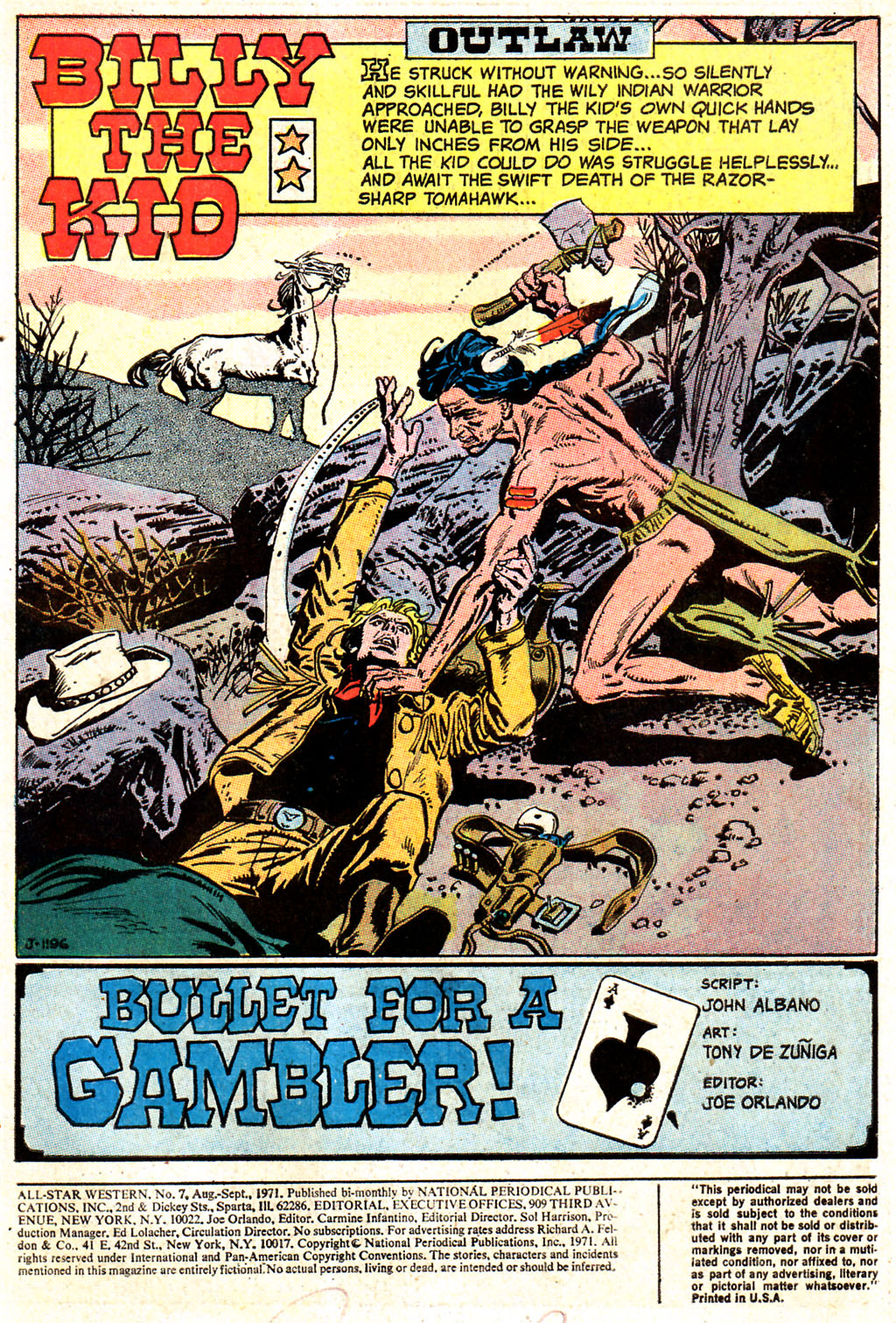 Read online All-Star Western (1970) comic -  Issue #7 - 3