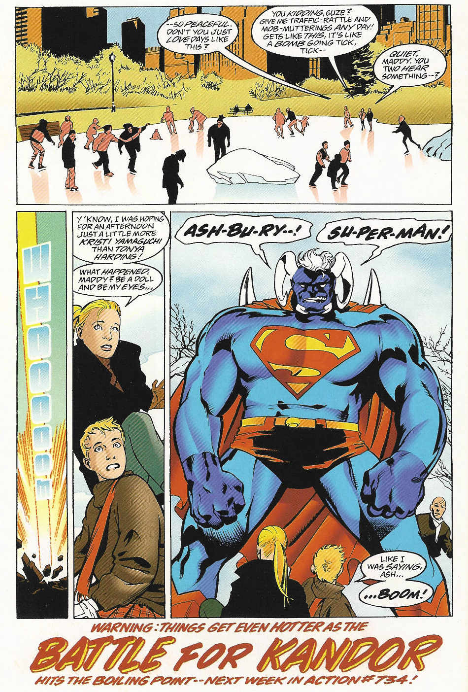 Read online Adventures of Superman (1987) comic -  Issue #547 - 23