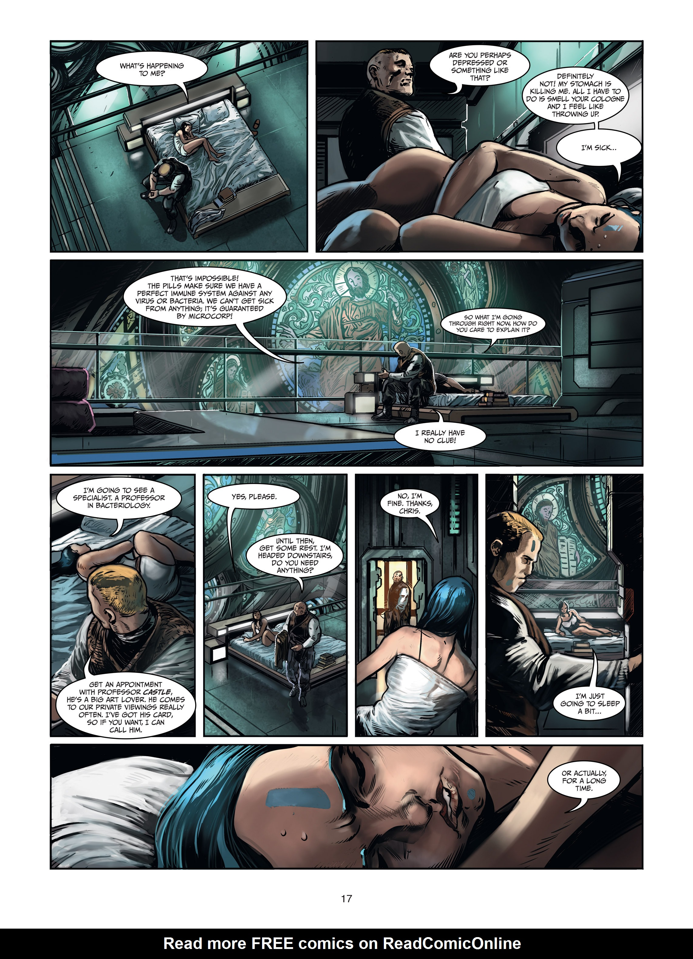 Read online Androïds comic -  Issue #1 - 15