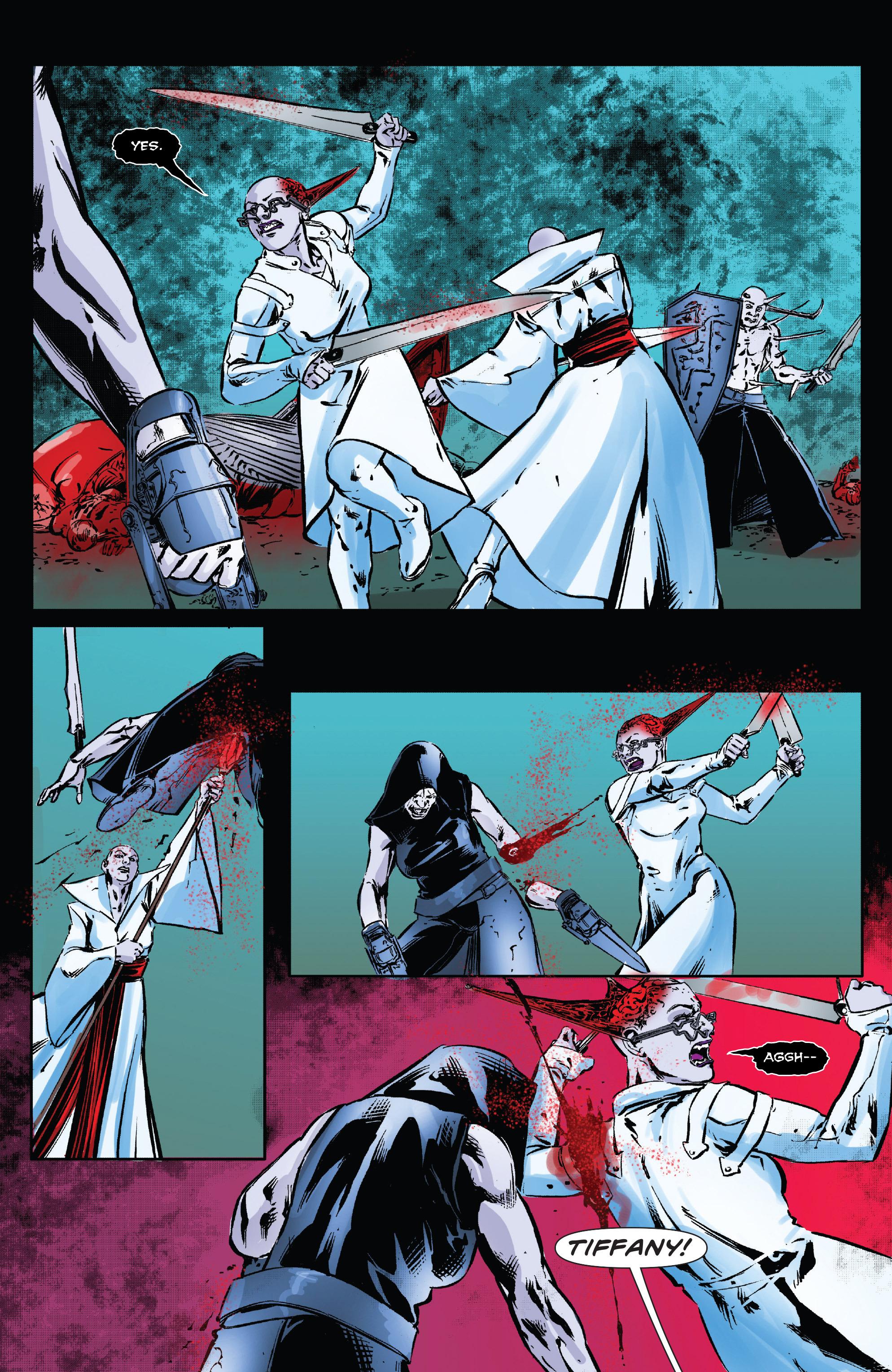 Read online Clive Barker's Hellraiser: The Dark Watch comic -  Issue # TPB 3 - 115