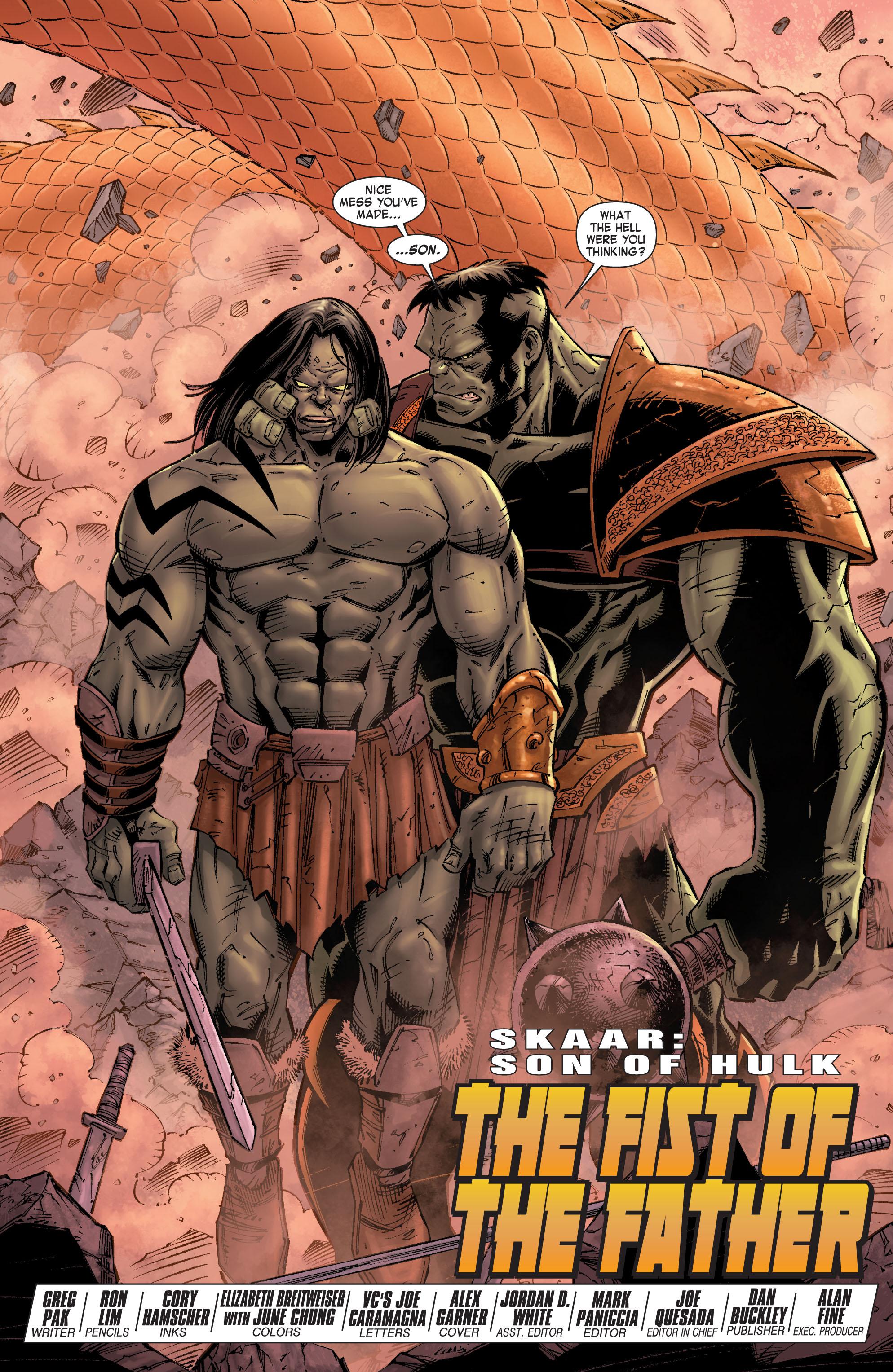 Read online Skaar: Son of Hulk comic -  Issue #9 - 5