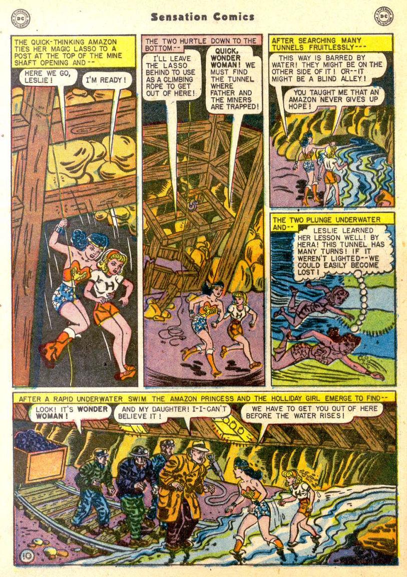 Read online Sensation (Mystery) Comics comic -  Issue #85 - 11