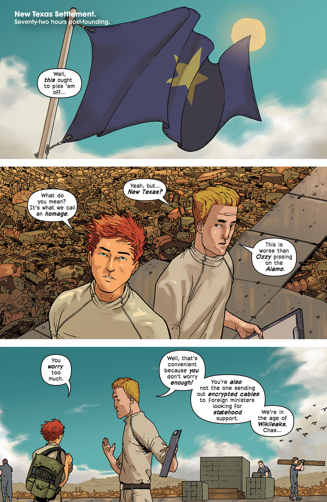 Read online Great Pacific comic -  Issue #2 - 3