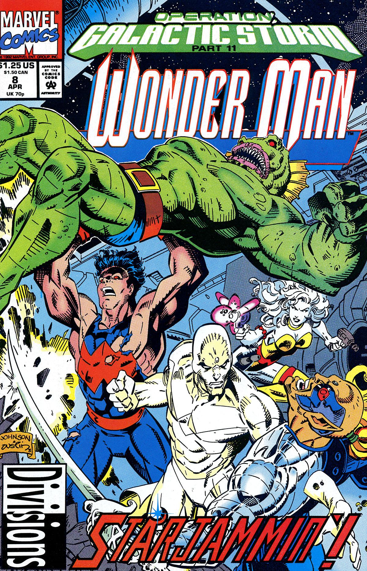 Read online Wonder Man (1991) comic -  Issue #8 - 1