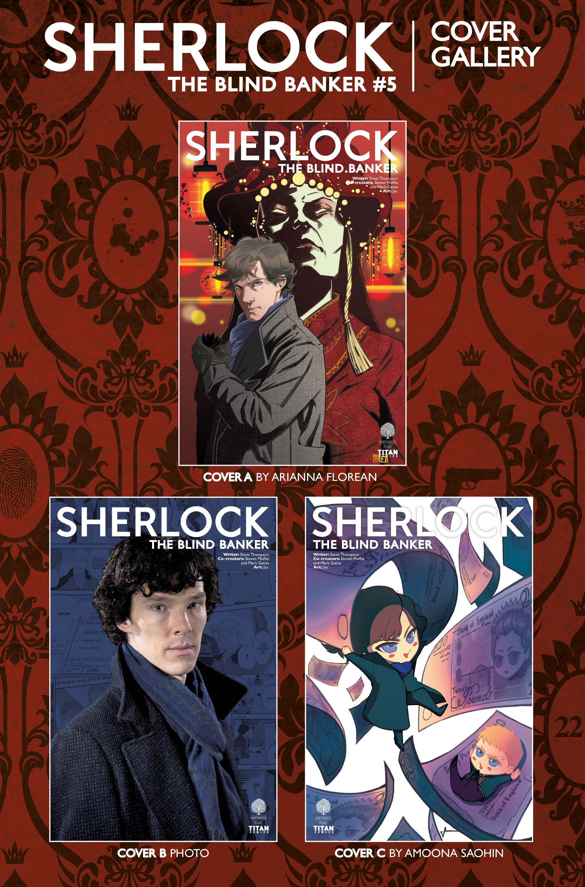 Read online Sherlock: The Blind Banker comic -  Issue #5 - 40