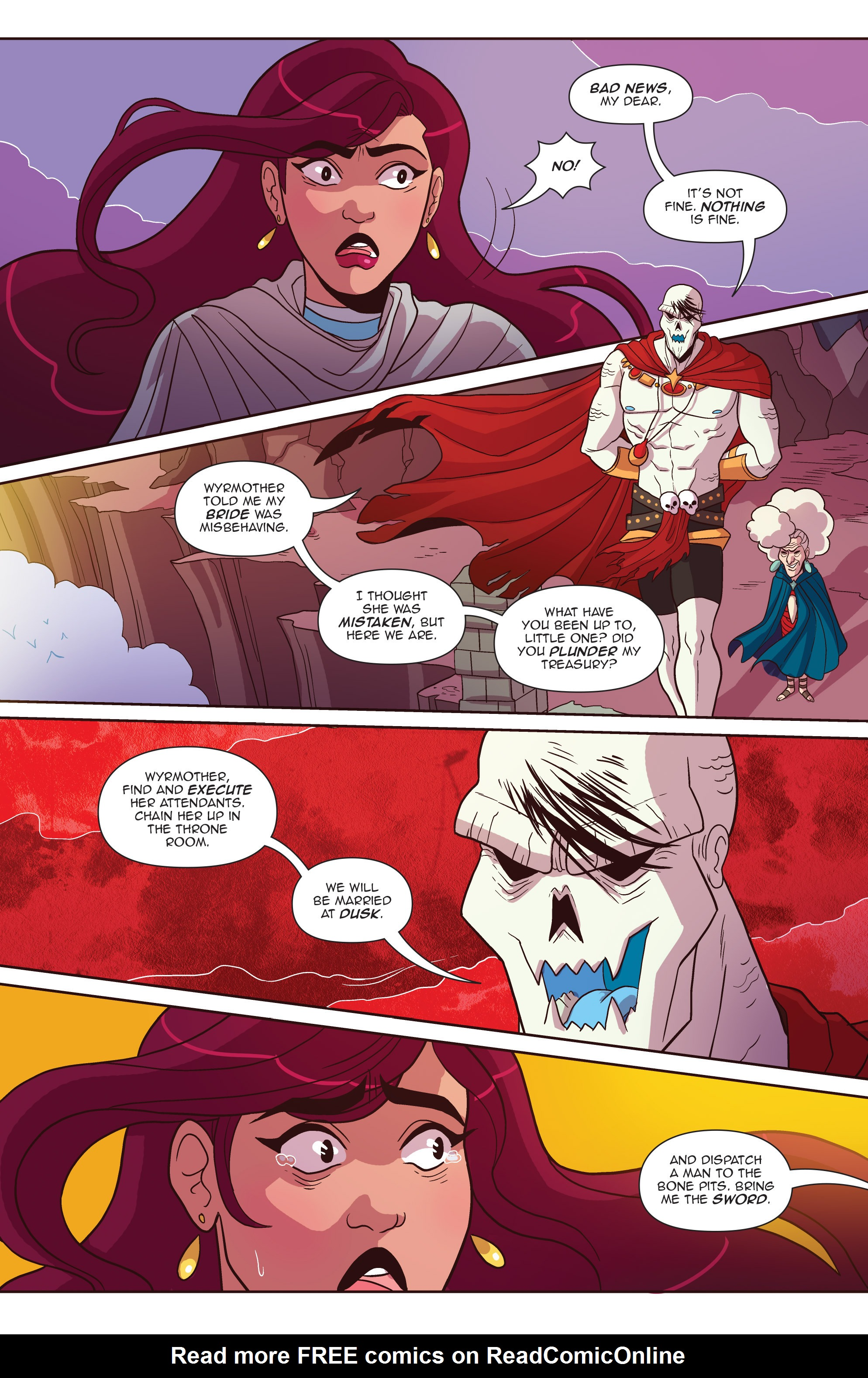 Read online Another Castle comic -  Issue #4 - 9