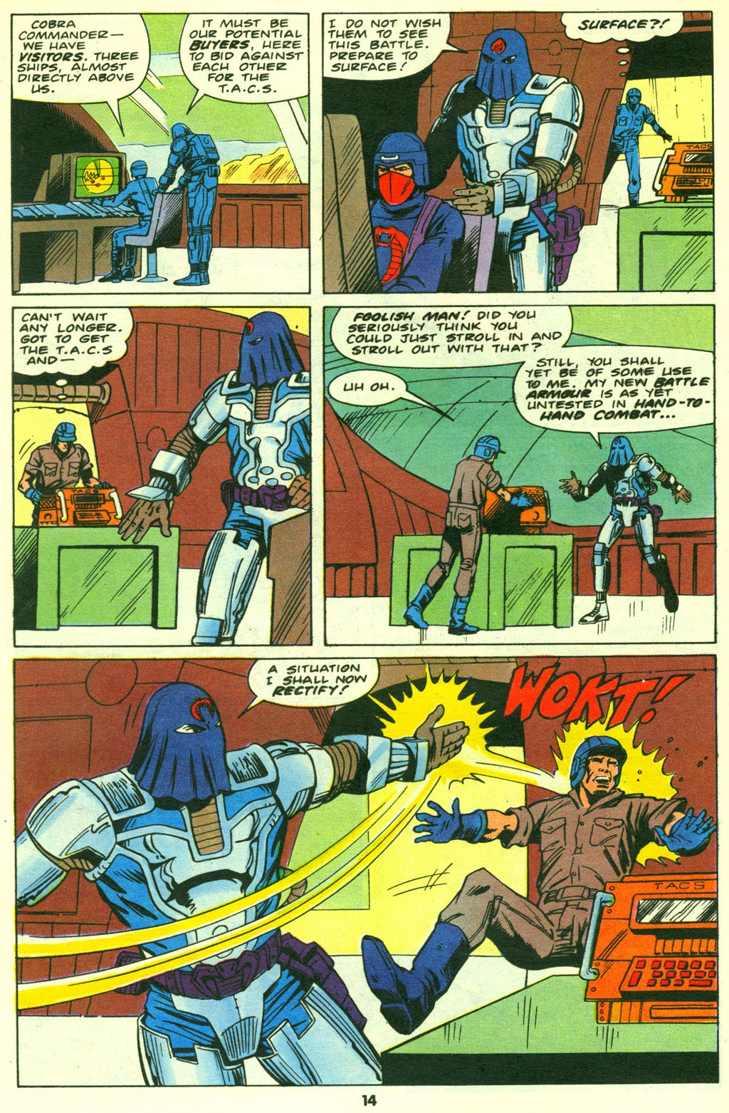 G.I. Joe European Missions issue 14 - Page 15