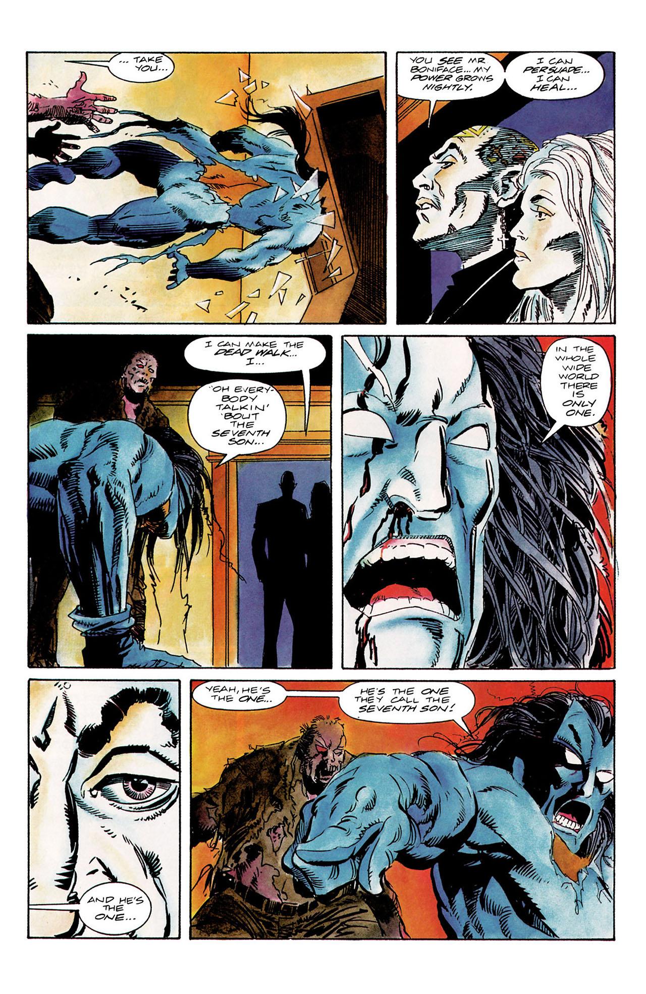 Read online Shadowman (1992) comic -  Issue #10 - 18