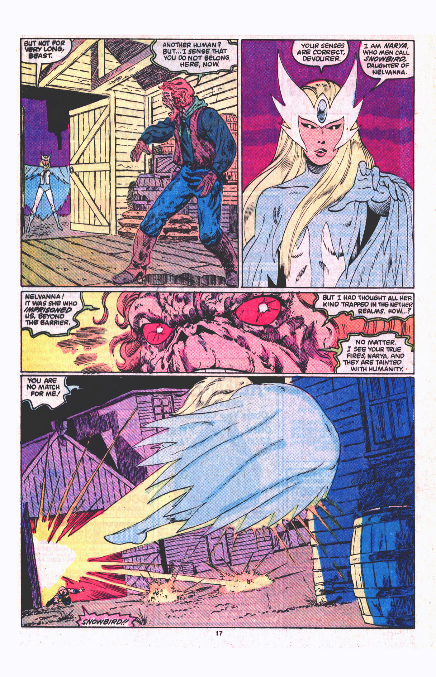 Read online Alpha Flight (1983) comic -  Issue #19 - 18