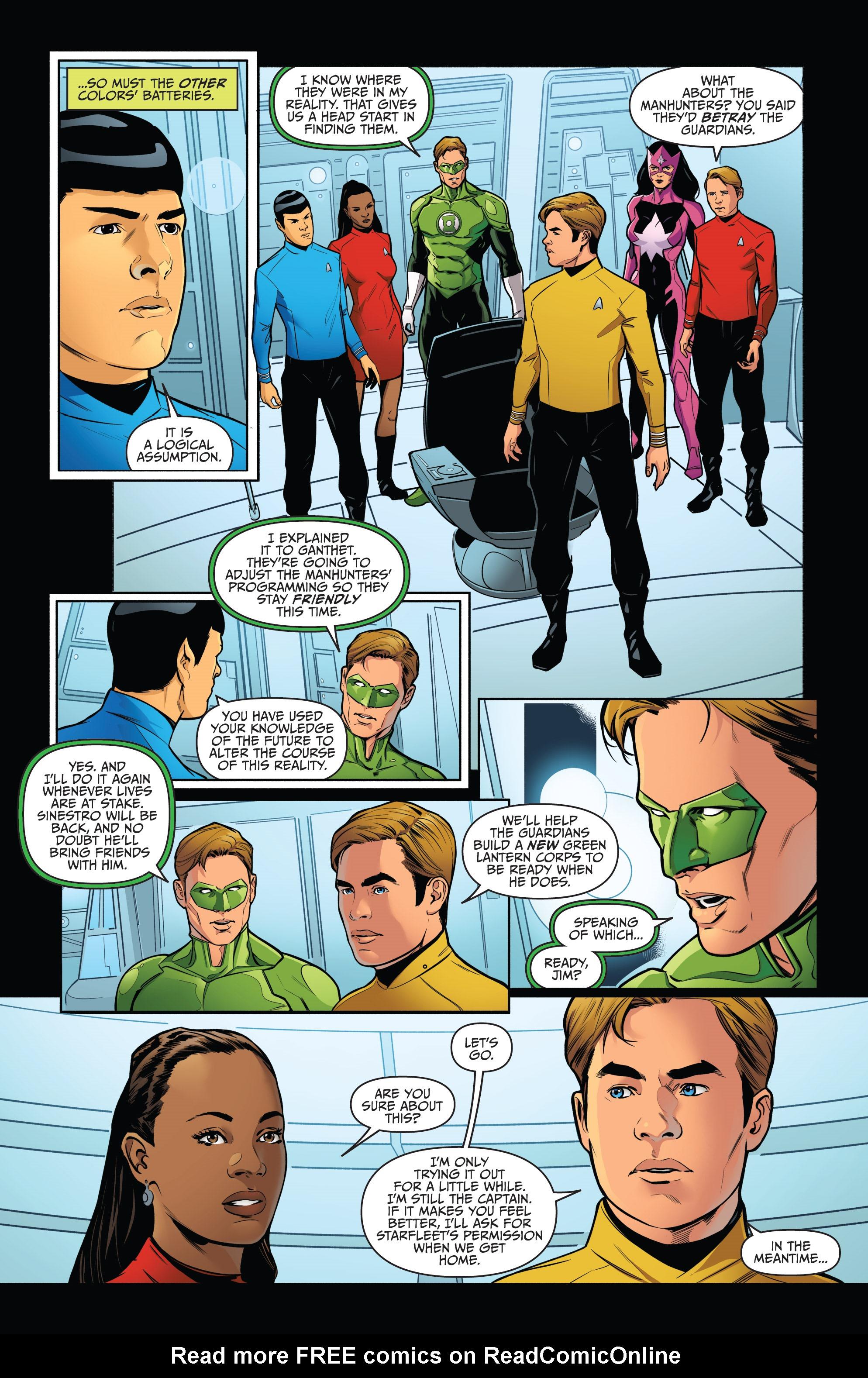 Read online Star Trek/Green Lantern (2016) comic -  Issue #6 - 19