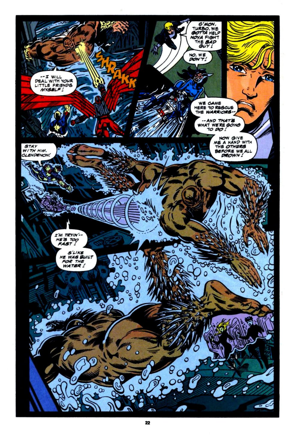 The New Warriors Issue #56 #60 - English 17