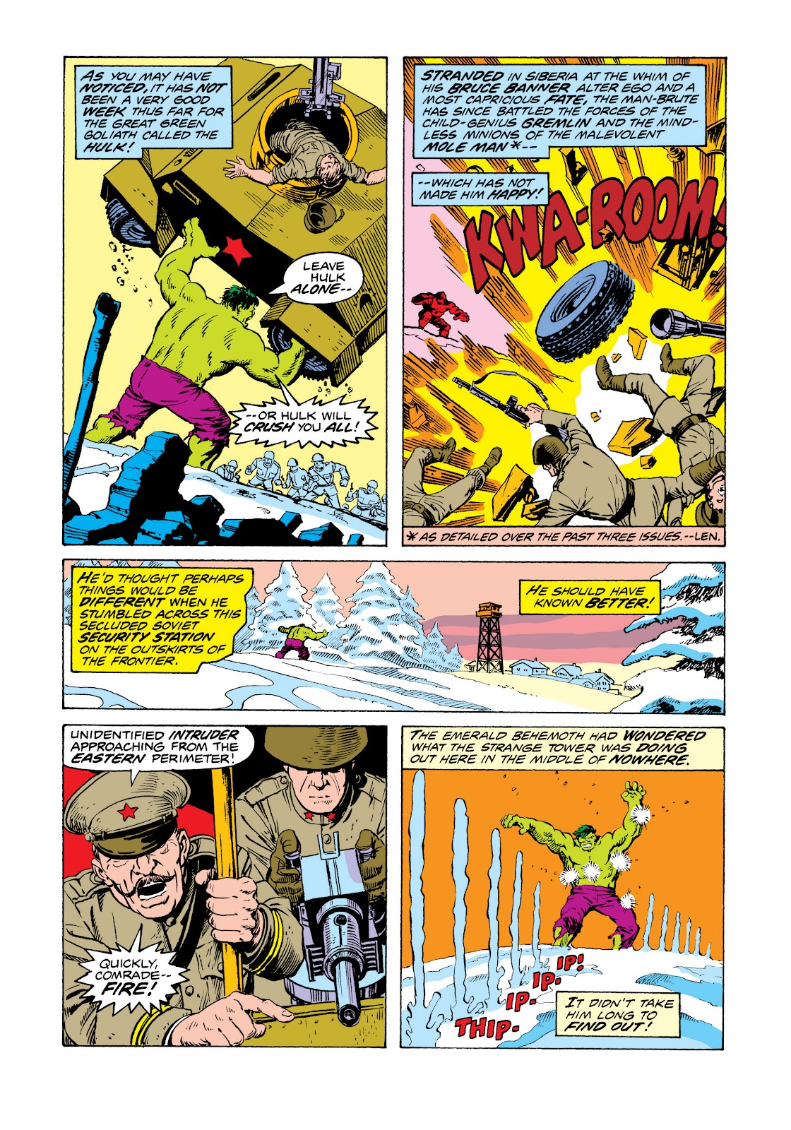 Read online Marvel Masterworks: The Incredible Hulk comic -  Issue # TPB 11 (Part 2) - 22