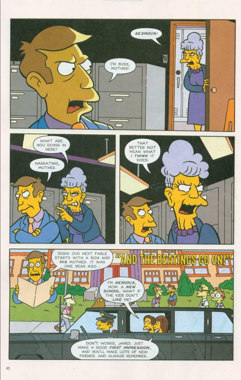 Read online Simpsons Comics comic -  Issue #75 - 11