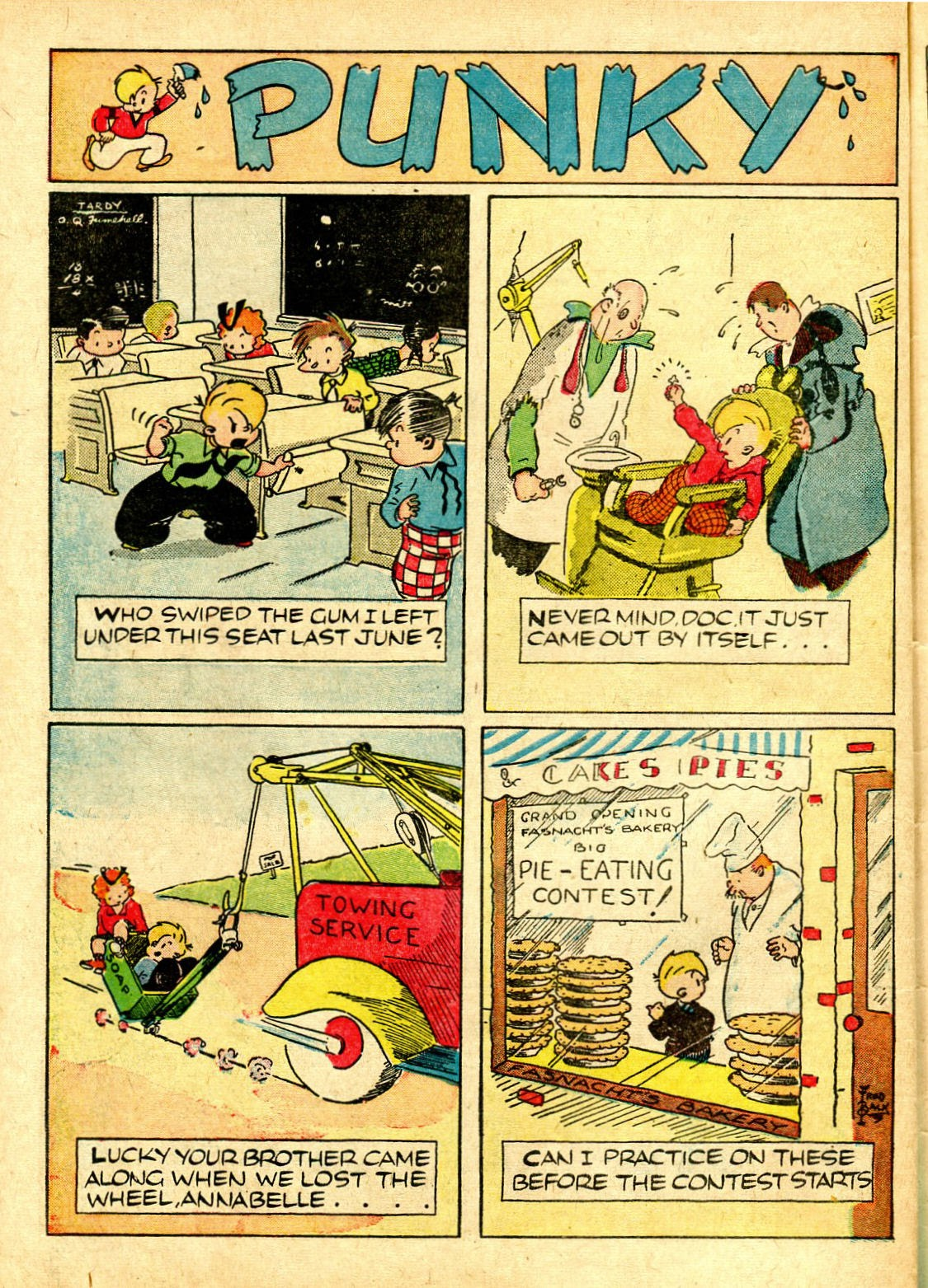 Read online Famous Funnies comic -  Issue #63 - 55